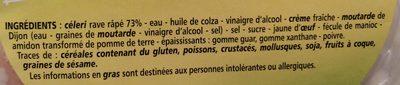 Céleri Remoulade - Ingrédients - fr