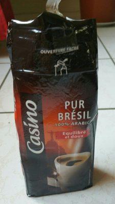 Pur Brésil - 100% arabica - Equilibré et doux - Ingredients - fr