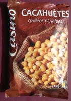 Cacahuètes grillées et salées 250g Casino - Product - fr