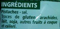 Pistaches Grillées et salées - Ingrediënten