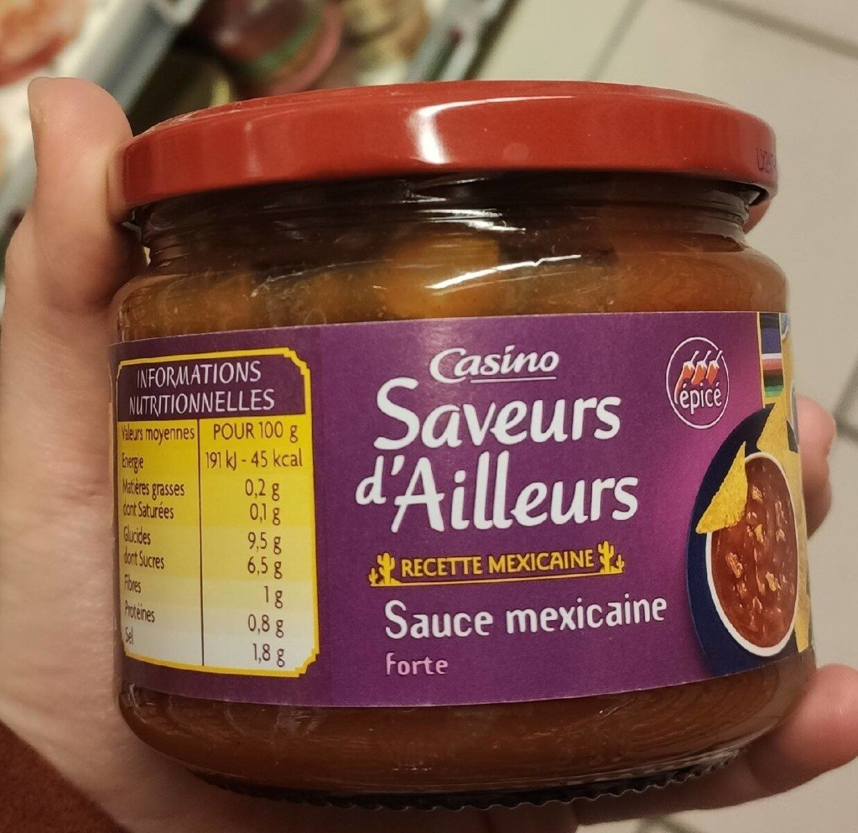 Sauce Mexicaine Forte - Product - fr