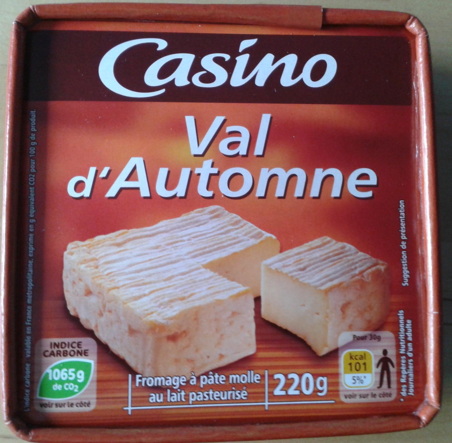 Val d'automne - Produit - fr