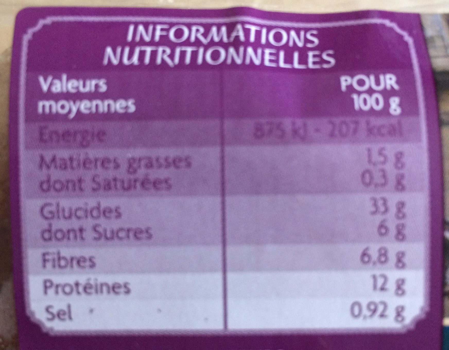 4 Muffins complets - CASINO SAVEURS D'AILLEURS - Royaume-Uni - Nutrition facts
