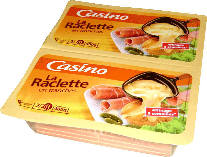 La Raclette en tranches - Produit - fr