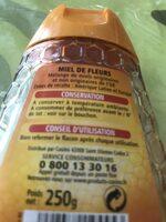 Miel de fleurs Liquide - 成分 - fr