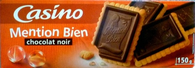 Mention Bien chocolat noir - Product - fr