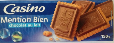 Biscuits Mention Bien Chocolat au lait - Produit
