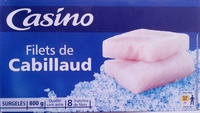 Tranches de filets de cabillaud - Product - fr