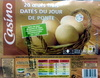 20 œufs frais datés du jour de ponte - Product
