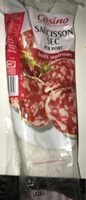 Saucisson sec pur porc qualité supérieure - Voedigswaarden