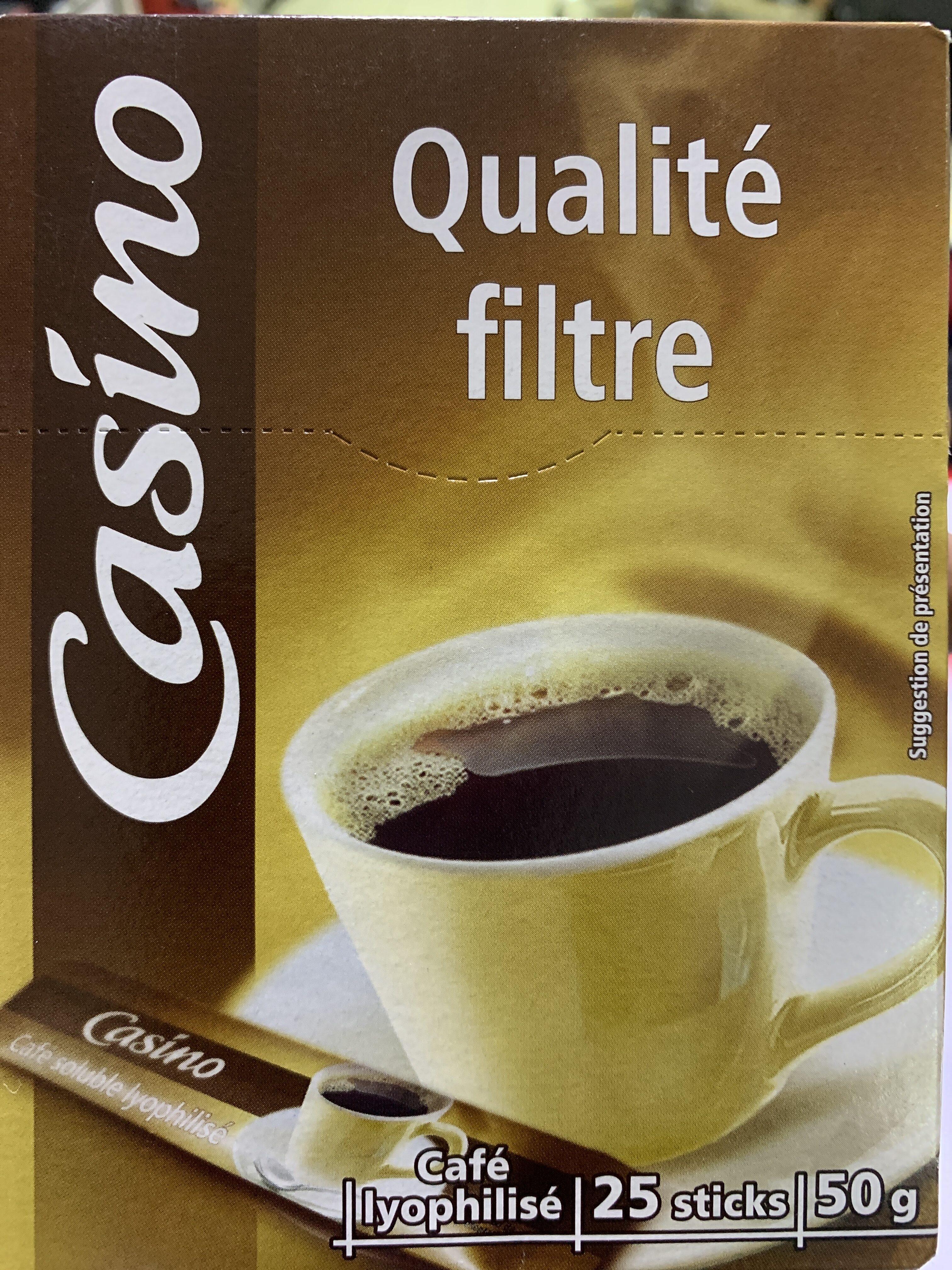 Café Qualité Filtre - Product - fr