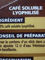 Café Qualité Filtre - Ingredients - fr