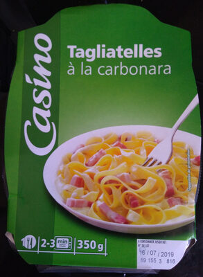 Tagliatelles à la Carbonara - Produit