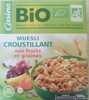 Muesli croustillant bio fruits et de graines casino bio - Product