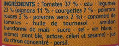 Sauce Basquaise - Ingrediënten
