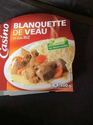 Blanquette de veau et son riz - 1