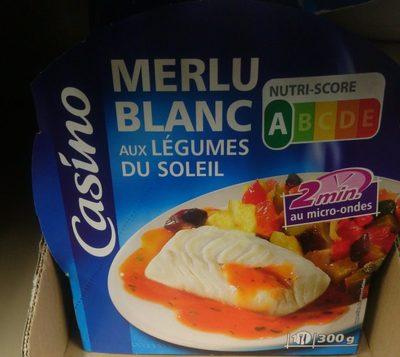 Merlu Blanc aux Légumes du Soleil - Produit