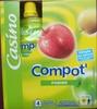 Compot' Pomme - Allégée en sucres - 30% de sucres en moins - Produit