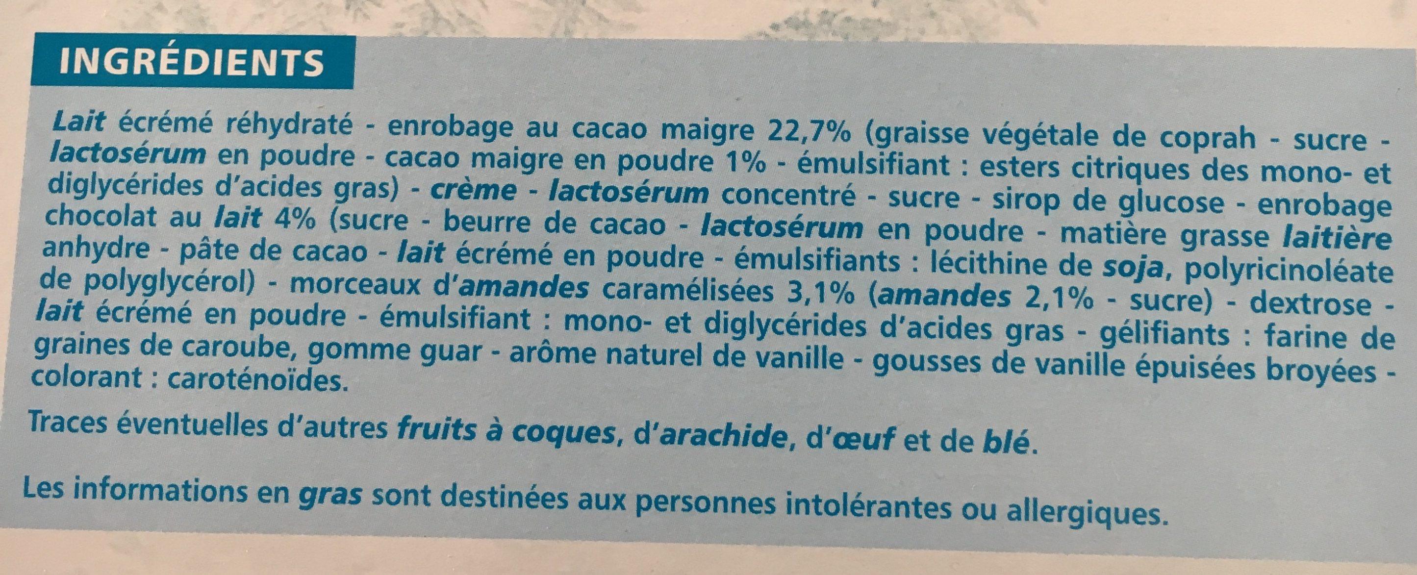 10 bâtonnets vanille - Ingredients