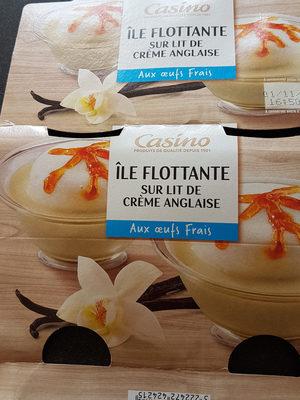 Ile flottante sur lit de crème anglaise - Aux oeufs frais - Product