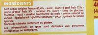Ile flottante sur lit de crème anglaise - Aux oeufs frais - Ingredients