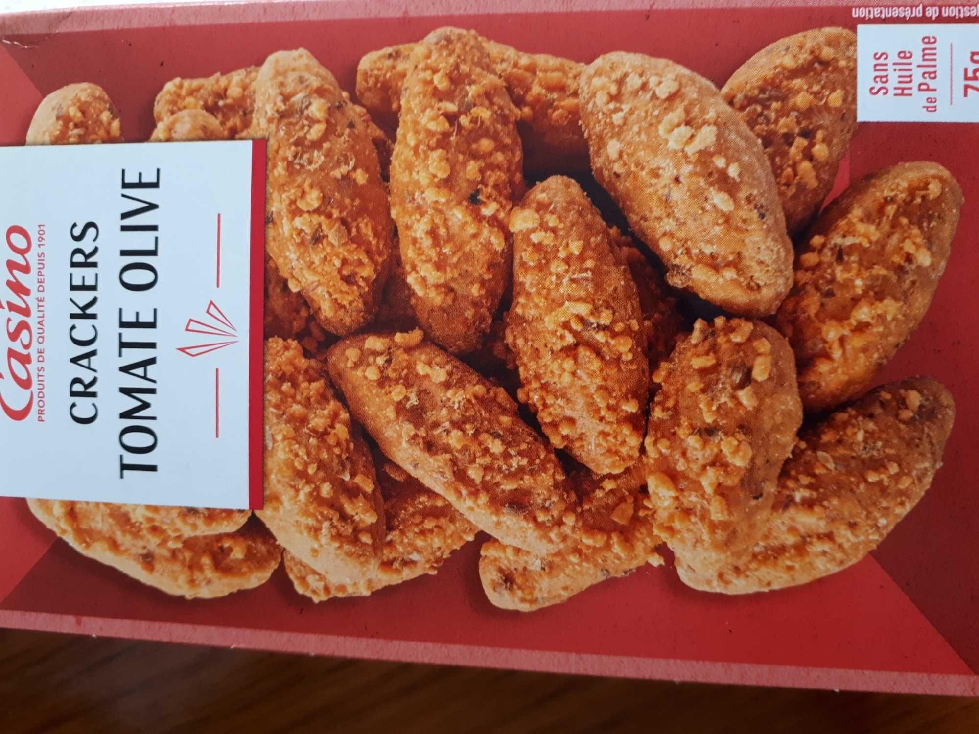 Crackers Tomate Olive - Produit