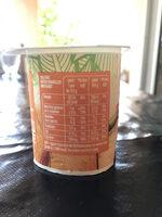 Le nature sucré - Au sucre de canne - Voedingswaarden