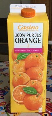 100% Pur Jus Orange - Prodotto - fr