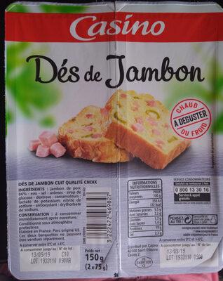 Dés de Jambon - Produit - fr