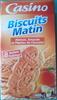 Biscuits Matin Abricots, Amandes et Pépites de Chocolat - Product