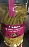 Mélange haricots verts coupés et flageolets - Product