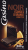 Chocolat Noir Orange Ecorces confites - Produit