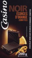 Chocolat Noir Orange Ecorces confites - Product