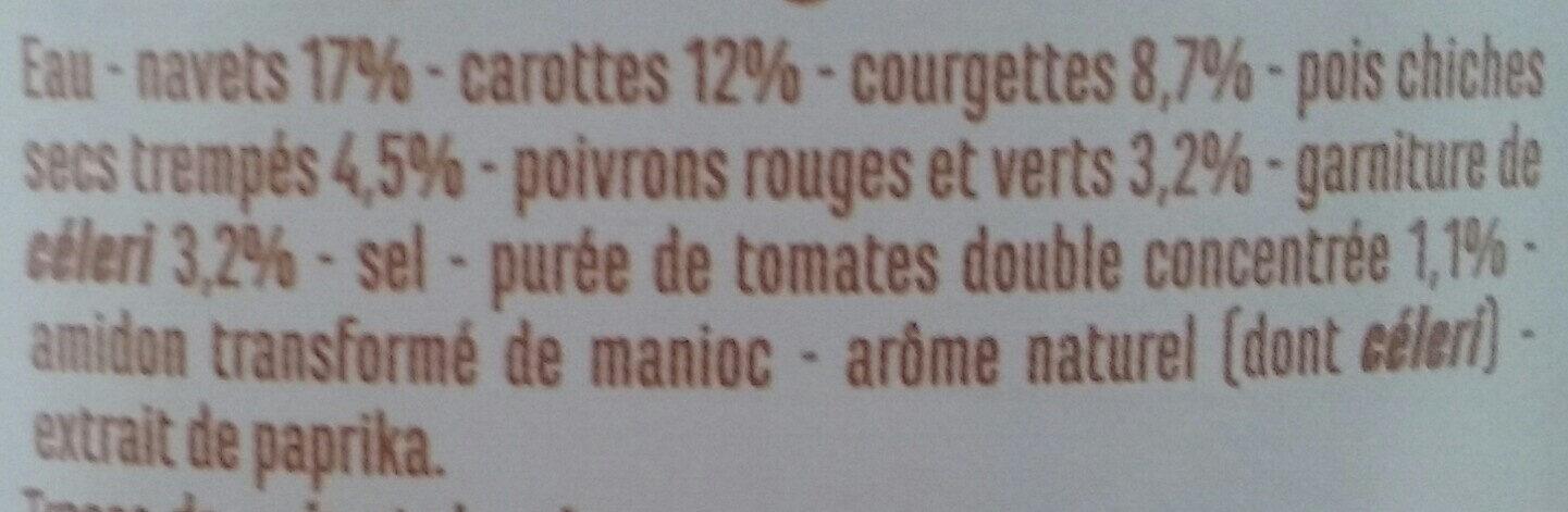 Légumes pour cousous - Ingrédients - fr