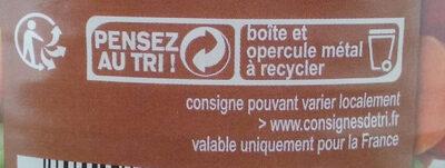 Légumes pour cousous - Instruction de recyclage et/ou informations d'emballage - fr