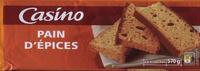 Pain d'épices en tranches - Product - fr