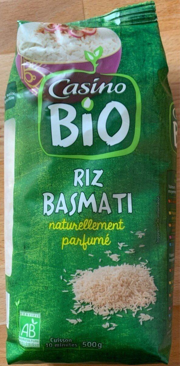 Riz Basmati naturellement parfumé bio - Product - fr