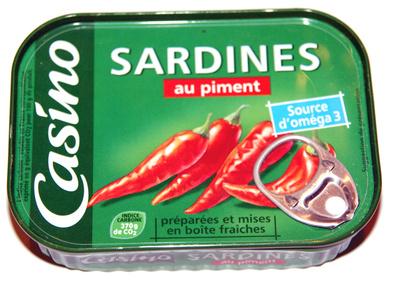 Sardines au piment - Product