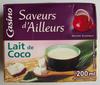 LAIT DE COCO 200ML UHT - Produit