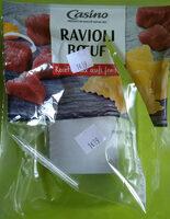 Ravioli boeuf recette aux oeufs frais - Produit