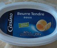Beurre tendre doux - Produit - fr