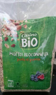 Muesli floconneux 7 fruits & 4 céréales – 25% de fruits - Produkt