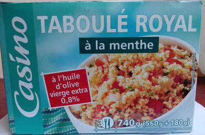 Taboulé royal à la menthe - Product - fr