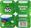 Fromage frais BIO 3.2% de mat.gr.sur produit fini - Produit