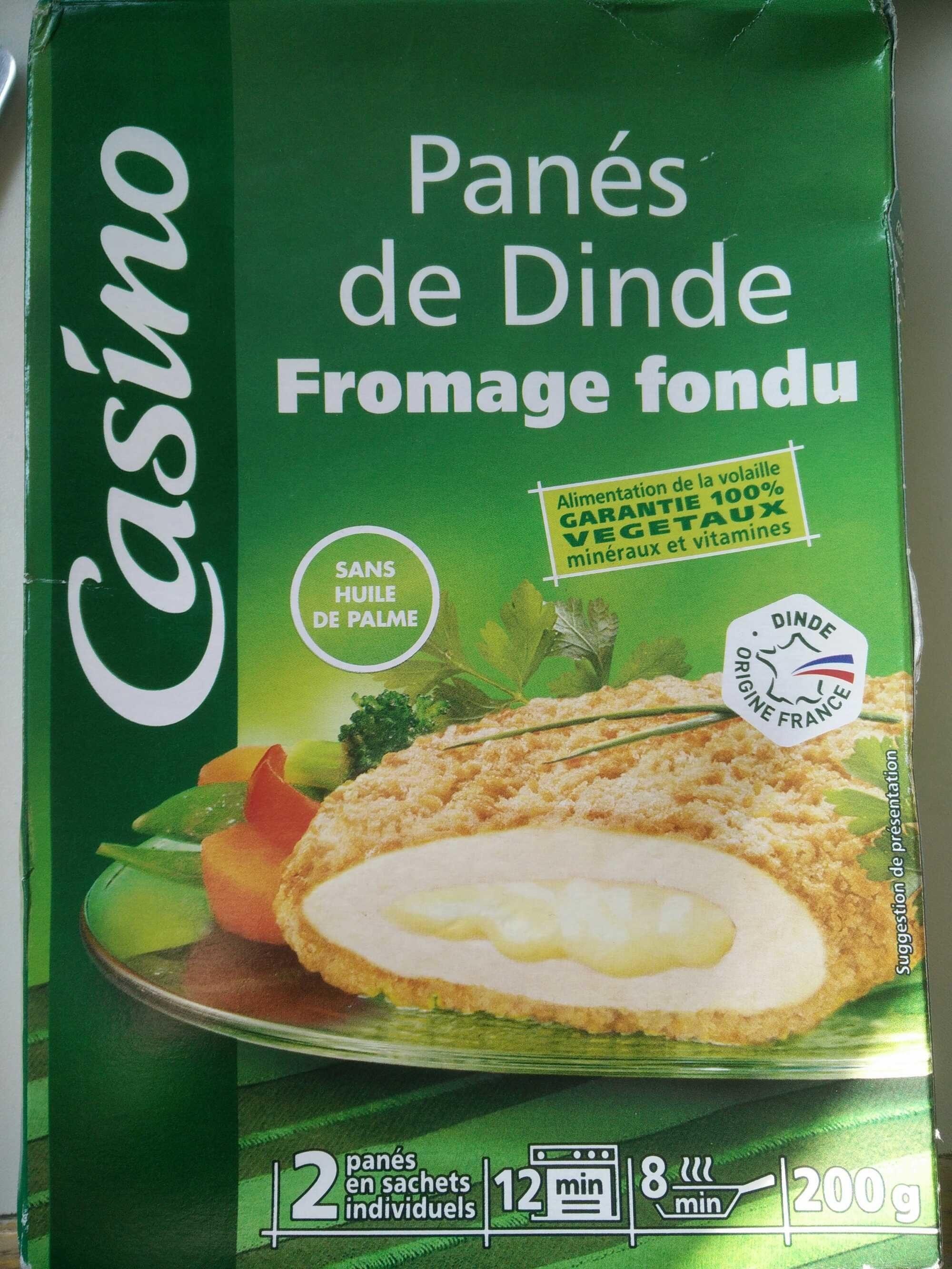 Panés de dinde fromage fondu - Casino - Product