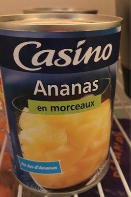 Ananas en morceaux au jus d'ananas - Product - fr