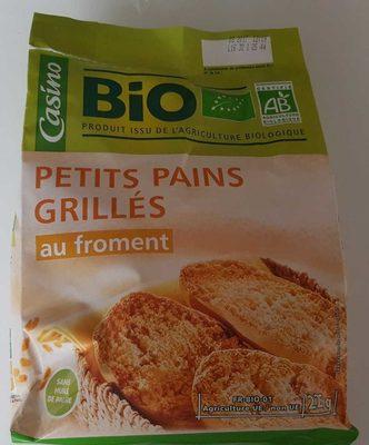 Petits Pains Grillés au Froment - Produit - fr