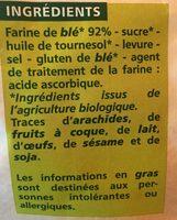 Petits Pains Grillés au Froment - Ingrédients - fr