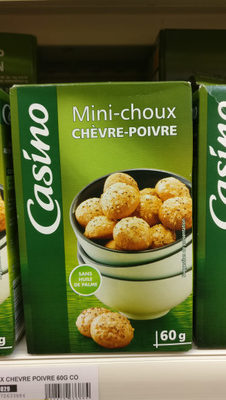 Choux Chevre Poivre 60G Co - Product