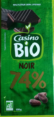 Chocolat noir bio 74% dégustation - Produit - fr